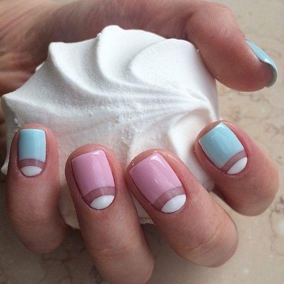 Модные тенденции маникюра для коротких ногтей | 28