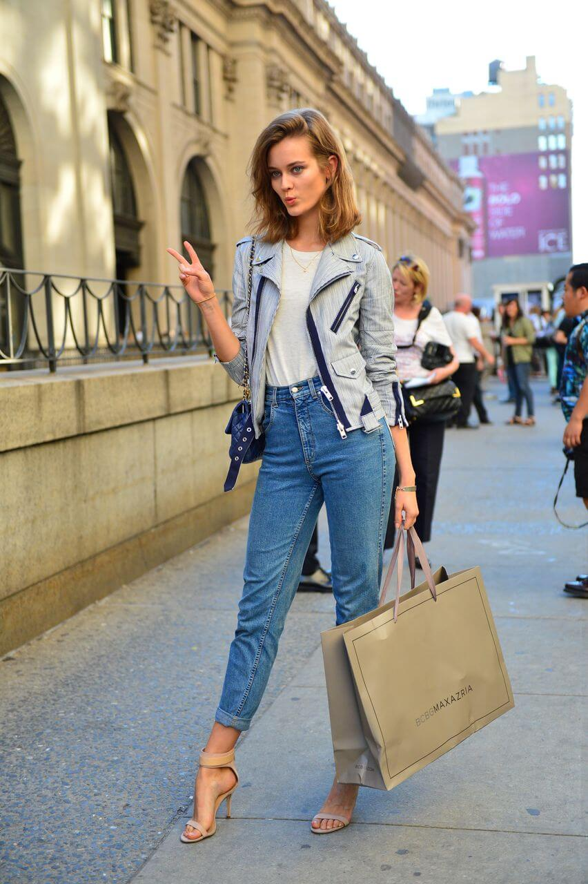 Модные женские джинсы сезона 2018 | 28