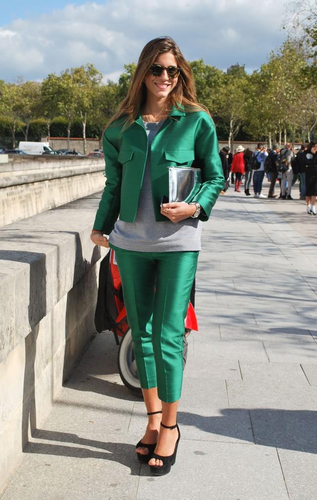 Восхитительное сочетание роскошного зеленого и элегантного серого | 3
