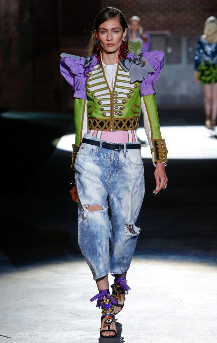 Модные женские джинсы сезона 2018 | 3