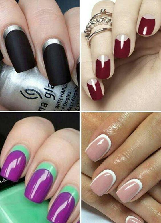 Модные тенденции маникюра для коротких ногтей | 33