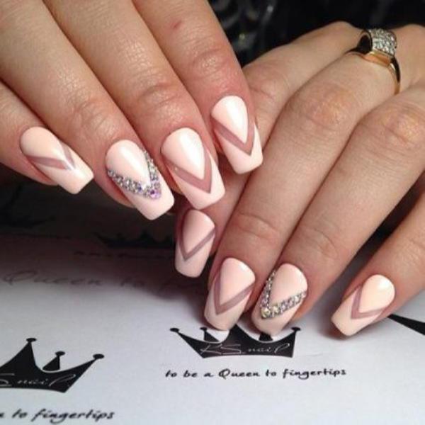 Красивые ногти с украшениями на весну-лето 2018