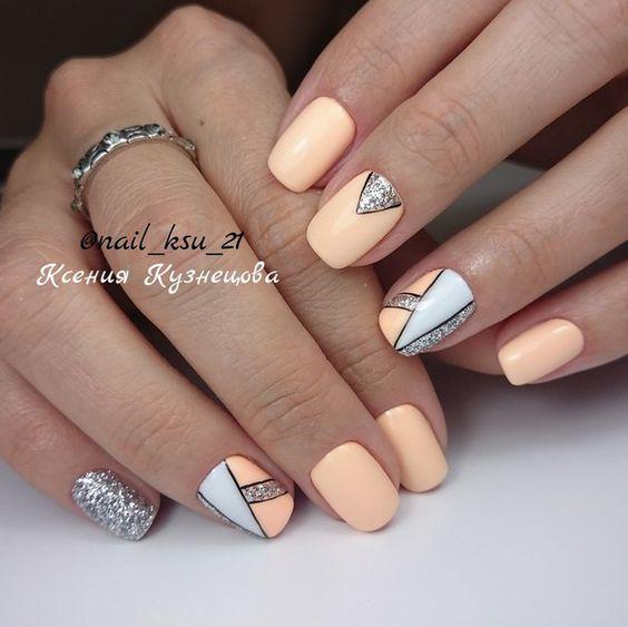 Модные тенденции маникюра для коротких ногтей | 4