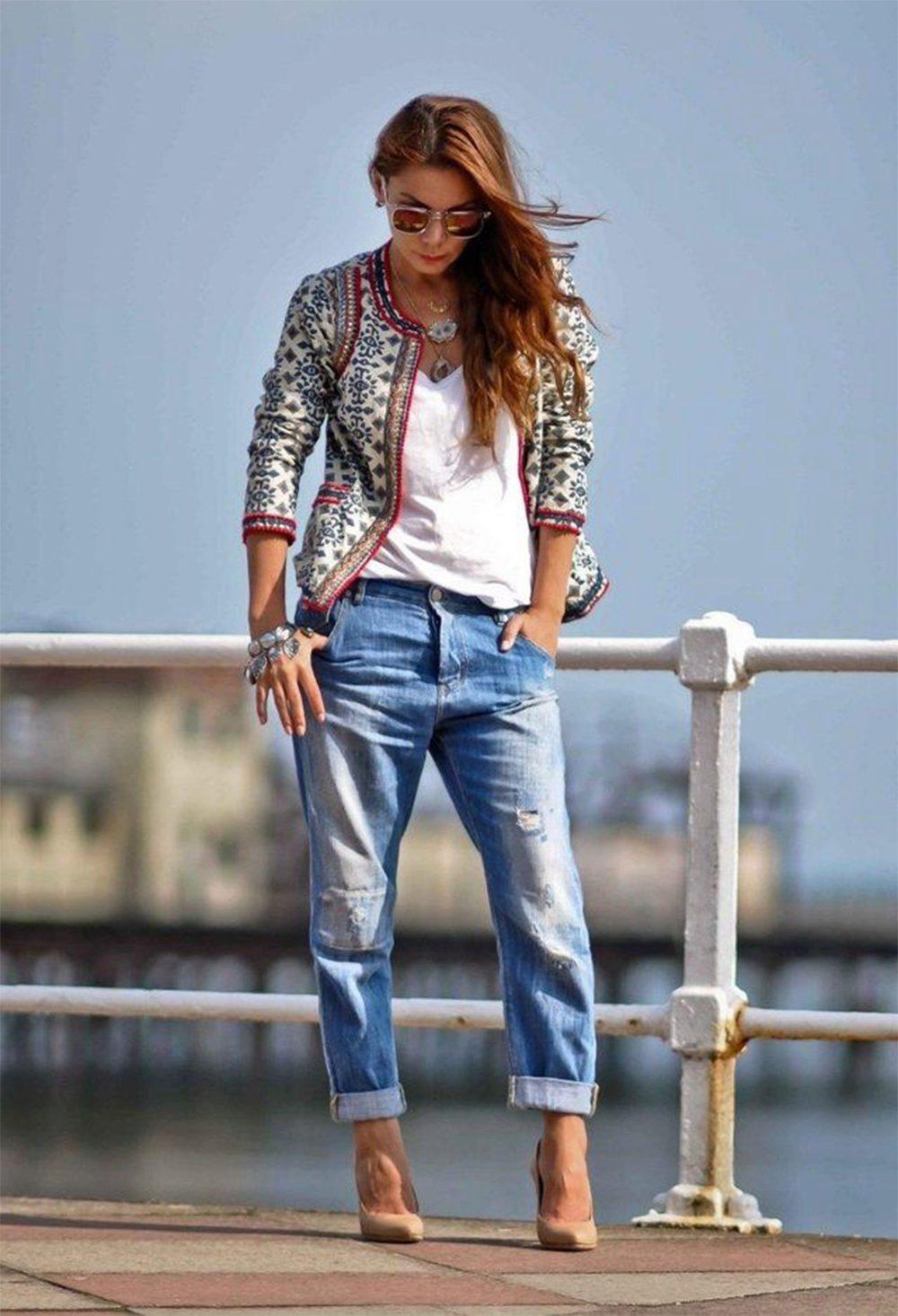 Модные женские джинсы сезона 2018 | 4