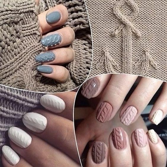 Модные тенденции маникюра для коротких ногтей | 48