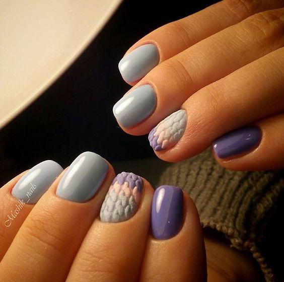 Модные тенденции маникюра для коротких ногтей | 51