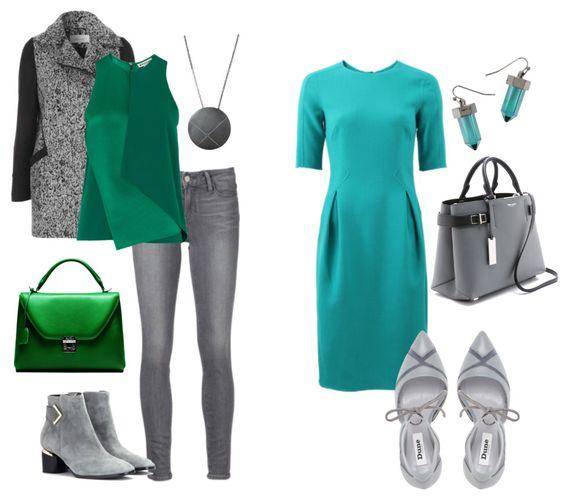 Восхитительное сочетание роскошного зеленого и элегантного серого | 6