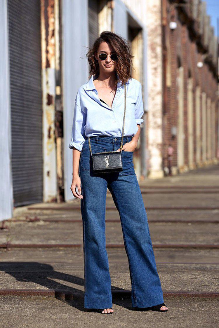 Модные женские джинсы сезона 2018 | 7