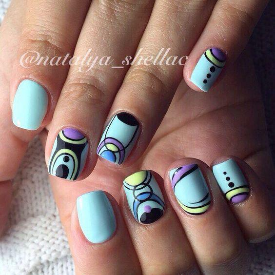 Модные тенденции маникюра для коротких ногтей | 7