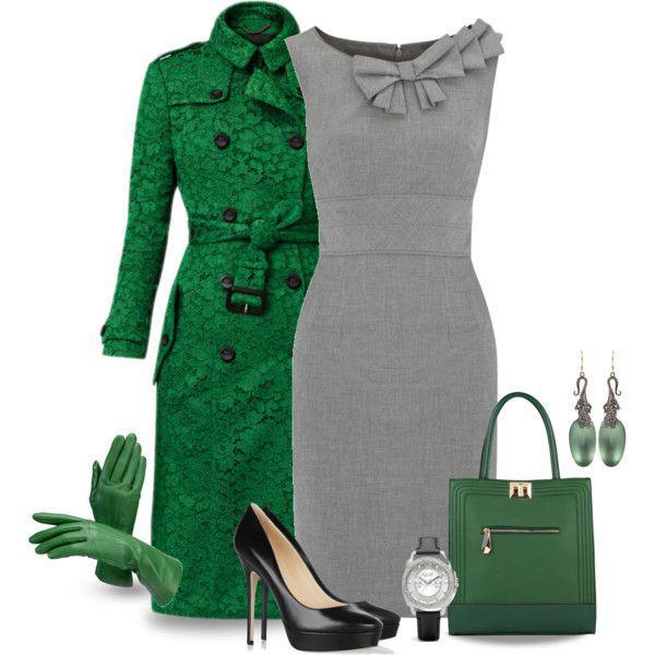 Восхитительное сочетание роскошного зеленого и элегантного серого | 8
