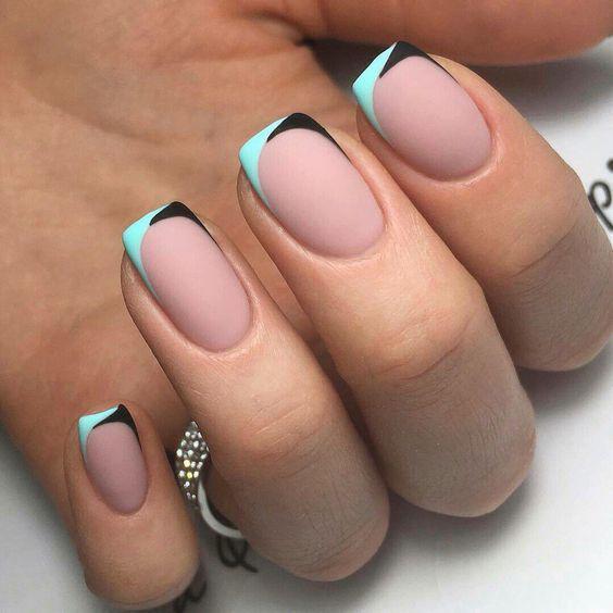 Модные тенденции маникюра для коротких ногтей | 9