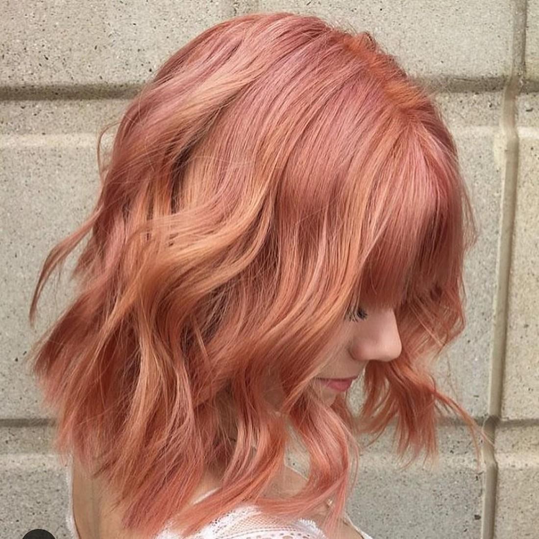 Окрашивание волос блоранж | 9