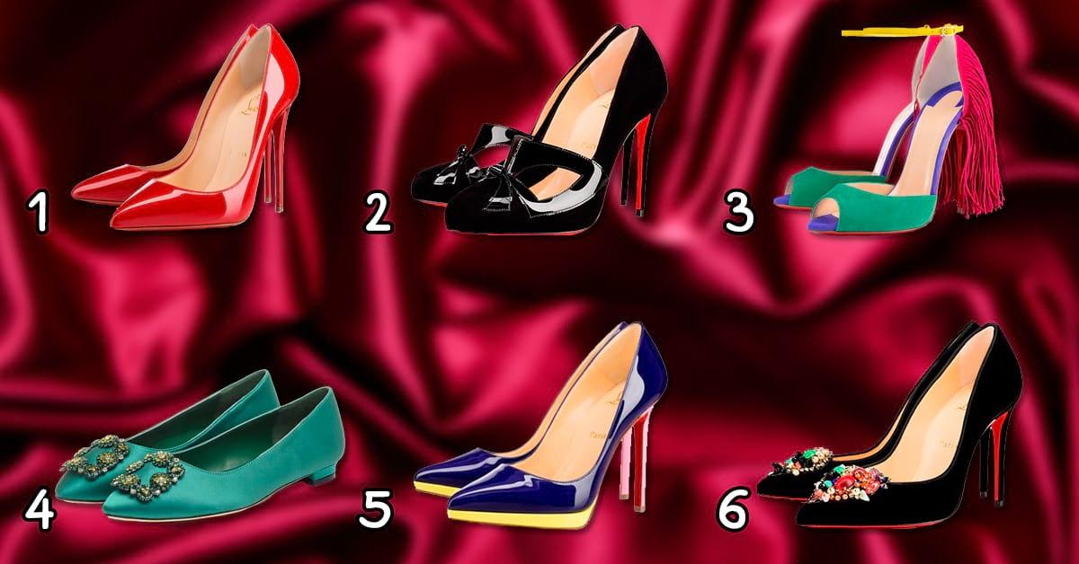 Тест: выбери туфли и узнай какая ты женщина!