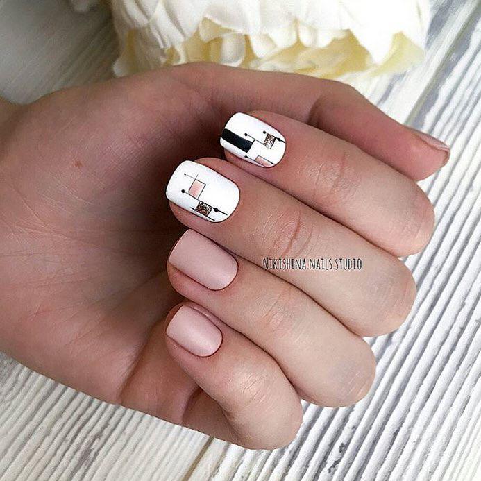 Интересные идеи маникюра с рисунками на ногтях