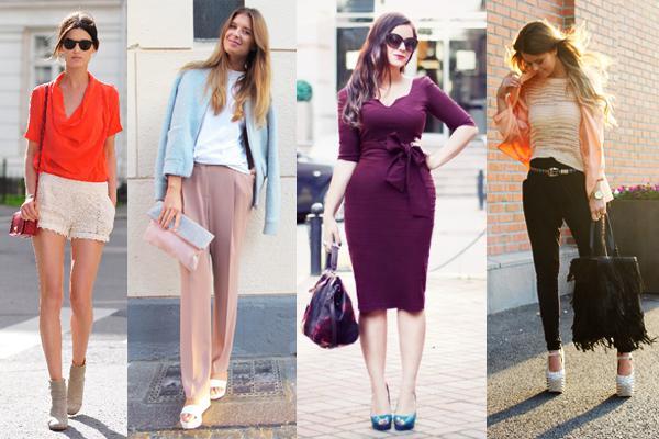 24 стильных сочетания обуви и сумок | 1