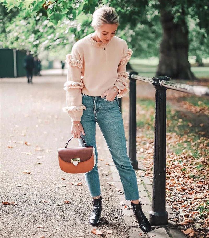 24 стильных сочетания обуви и сумок | 12