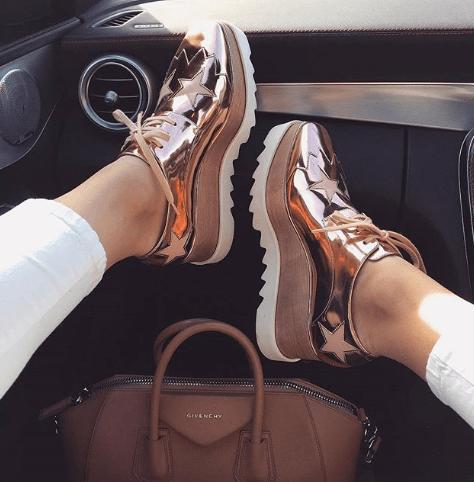 24 стильных сочетания обуви и сумок | 16