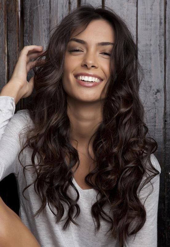 Большие шикарные влсы для длинных влос
