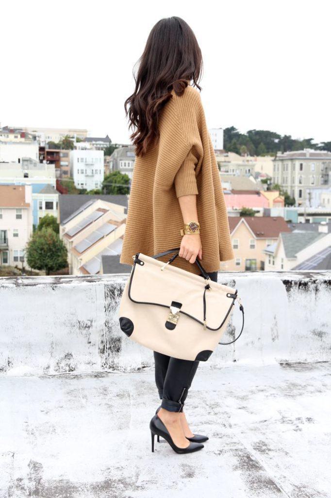24 стильных сочетания обуви и сумок | 17