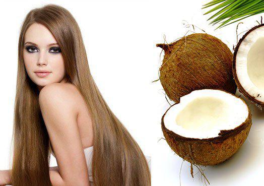 Лечение волос при помощи кокосового масла