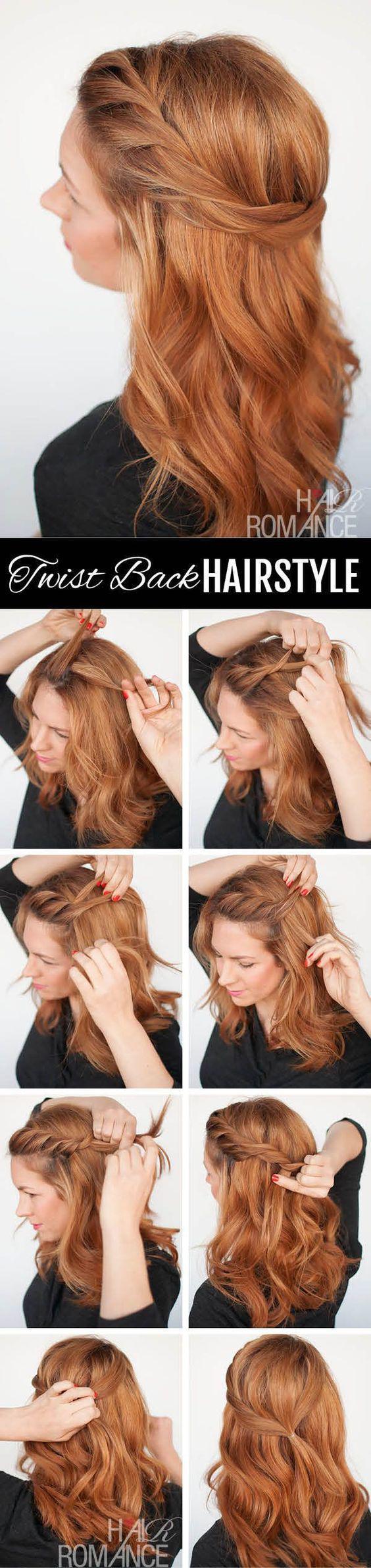 Причёски на средние редкие волосы на каждый день своими руками