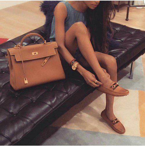 24 стильных сочетания обуви и сумок | 3