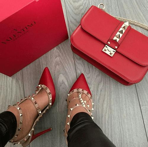 24 стильных сочетания обуви и сумок | 4