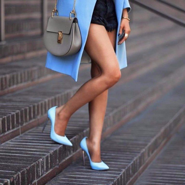 24 стильных сочетания обуви и сумок | 5