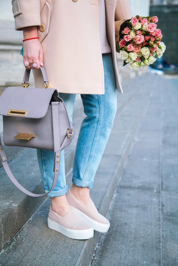 24 стильных сочетания обуви и сумок | 6