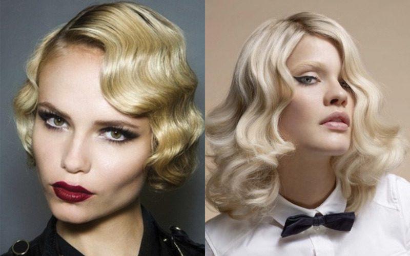 Классика для средних волос