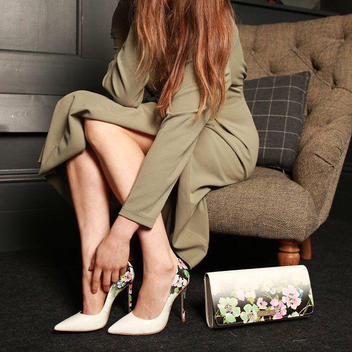 24 стильных сочетания обуви и сумок | 8