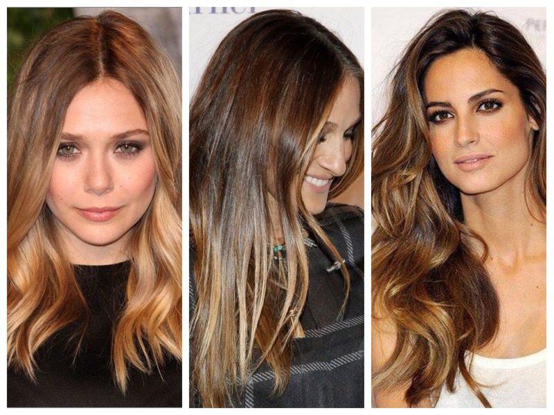 Трендовые прически на длинные волосы с челкой