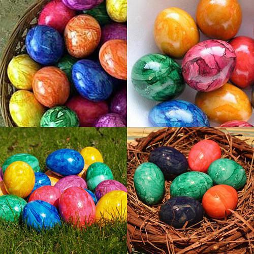 Красим яйца к Пасхе: оригинальные способы покраски