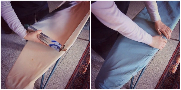 Обычная фольга позволит вам погладить белье гораздо быстрее и лучше!