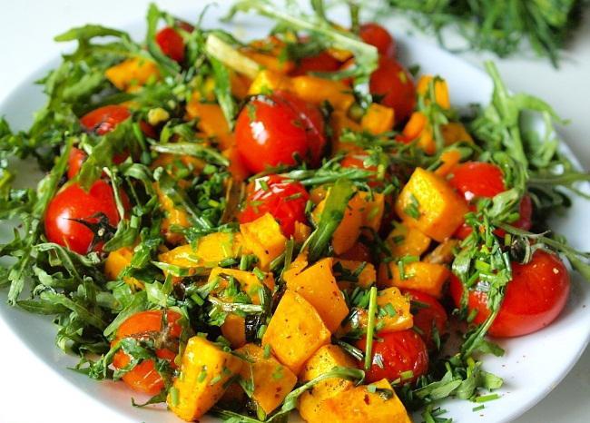 15 рецептов салатов из тыквы: вкусно и полезно! | 1