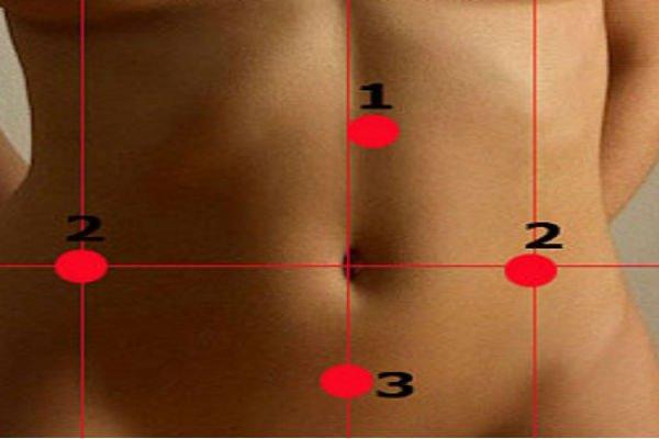 Массаж 5 точек, который поможет сбросить 3 килограмма за неделю