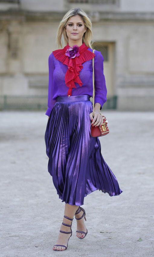 15 образов с использованием фиолетового цвета в одежде и аксессуарах — потрясающие фото!   10