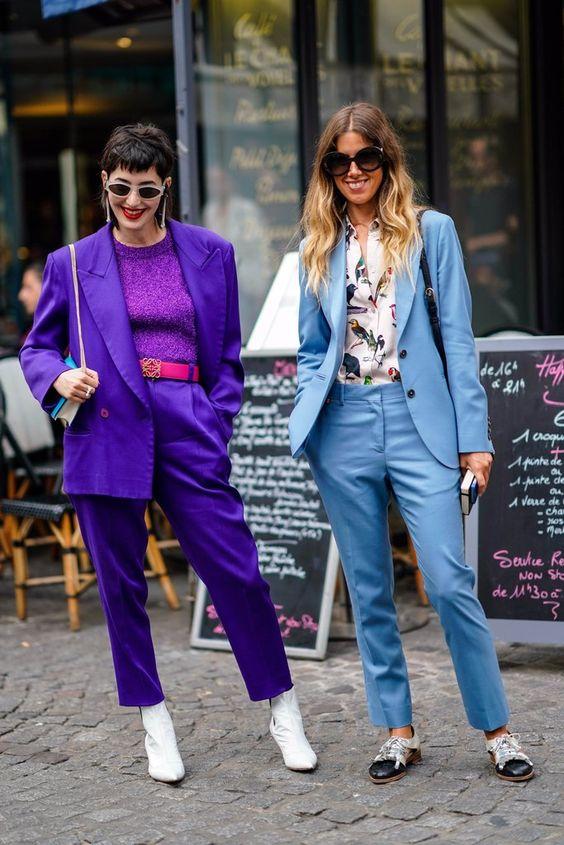 15 образов с использованием фиолетового цвета в одежде и аксессуарах — потрясающие фото!   14