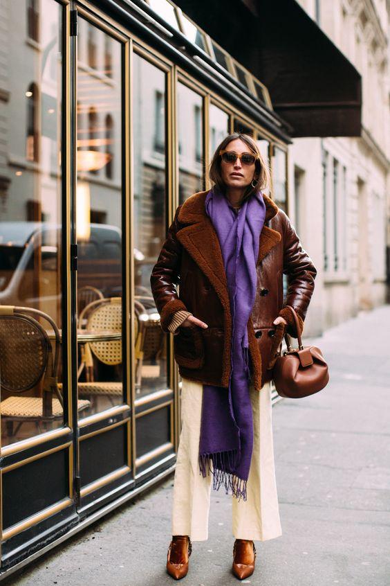15 образов с использованием фиолетового цвета в одежде и аксессуарах — потрясающие фото!   18