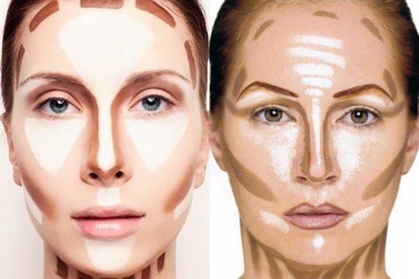 Как зрительно сделать нос меньше при помощи макияжа!
