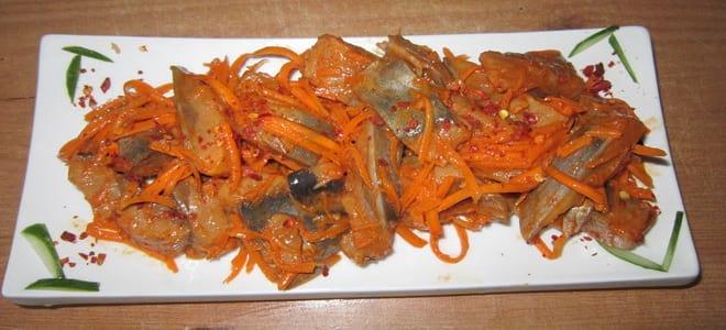 Селедка по-корейски отличный рецепт для любителей острой кухни