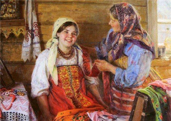 Что умела делать 10-летняя девочка на Руси 100 лет назад?