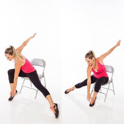 7 упражнений от обвисшего живота, которые можно делать сидя на стуле