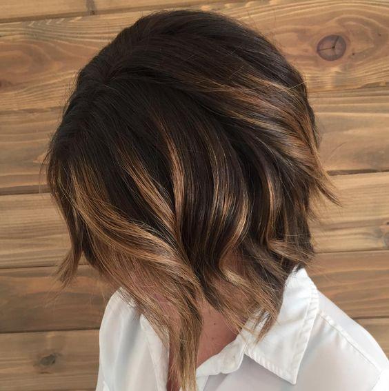 Модные оттенки и техники окрашивания на короткие волосы 2018