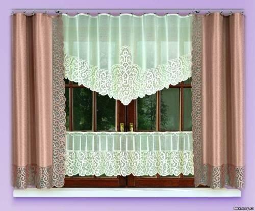 Подборка фантастической красоты штор на кухню