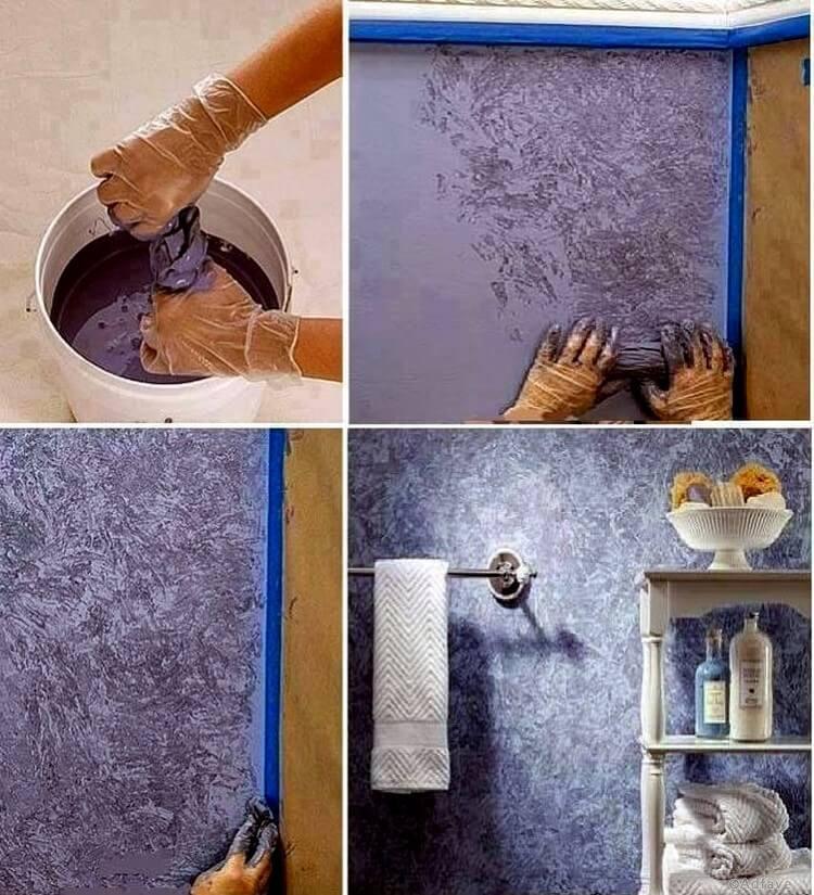 Несколько недорогих способов покрасить стены, как в элитном жилье | 4