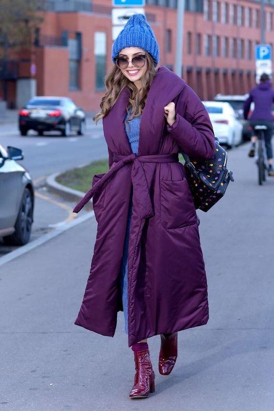 15 образов с использованием фиолетового цвета в одежде и аксессуарах — потрясающие фото!   4