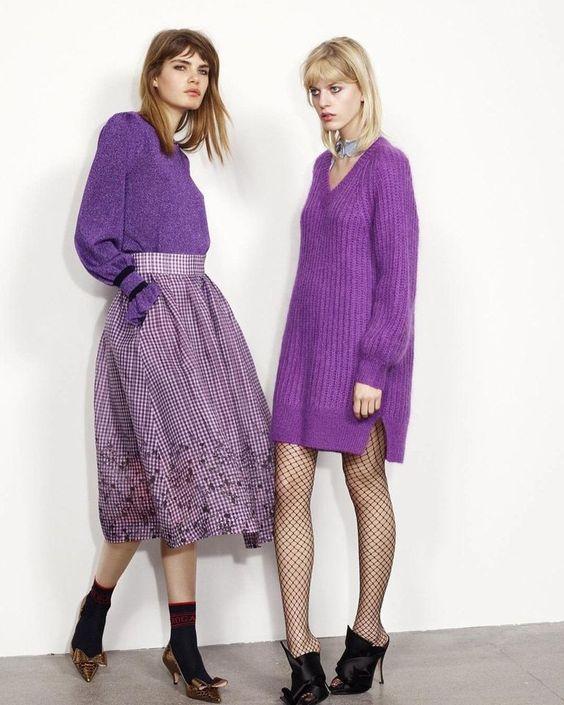 15 образов с использованием фиолетового цвета в одежде и аксессуарах — потрясающие фото!   9