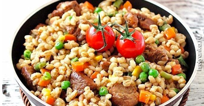 5 вкусных и полезных рецептов блюд с перловкой   30