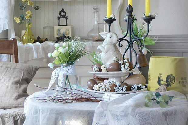 4 идеи оформления Пасхального стола в различных стилях | 2